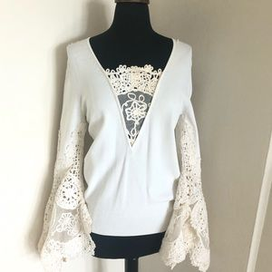 🧿HP🎀CHANEL 05P vintage knit blouse to die4 piece